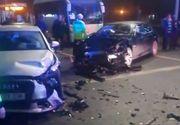 Două accidente grave în Capitală, noaptea trecută, la o distanță de câteva sute de metri unul de celălalt! Un copi se află printre victime