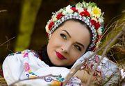 Una dintre cele mai frumoase și talentate artiste din România a pornit la colindat în Maramureș!