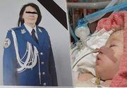 Larisa, fiica jandarmeriței ucise la Suceava, luptă să trăiască! E emoționat ce s-a întâmplat cu ea în zilele de Crăciun! E minunat