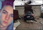 Georgian a murit decapitat în această dimineață într-un accident la Maramureș! Avea 19 ani și circula cu permisul suspendat!