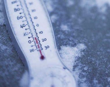 Ger năprasnic, la începutul Noului An! Temperaturile ajung până la - 30 de grade