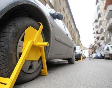 Atenție mare, șoferi! Roţile maşinilor care parchează neregulamentar în Sectorul 4 vor...