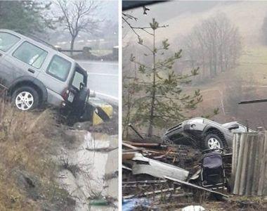 Accident cumplit în județul Cluj! În mașină  se afla interpretul de muzică populară...