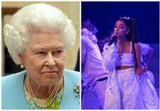 """Cântăreaţa Ariana Grande a refuzat titlul """"Dame"""" oferit de regina Marii Britanii"""