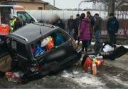 Accident groaznic în Argeș! Se întorceau în țară pentru a petrece Revelionul, dar nu au mai ajuns la destinație!