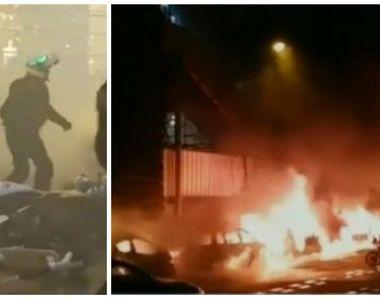 """""""Vestele galbele"""" continuă să facă legea pe străzile din Franța! Mai multe..."""