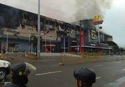 Explozie puternică într-un mall din Filipine! Două persoane și-au pierdut viața