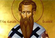 """Sfântul Vasile, considerat """"păzitorul de duhuri rele"""", este sărbătorit astăzi. Obiceiuri şi tradiţii"""