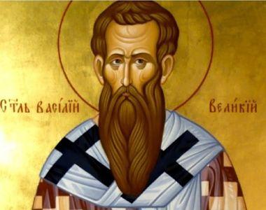 """Sfântul Vasile, considerat """"păzitorul de duhuri rele"""", este sărbătorit astăzi...."""