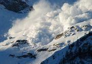 Pericol de avalanșă. Alertă pentru turiştii de pe Valea Prahovei şi din zona munţilor Făgăraş