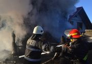 Neamț. Bărbat găsit carbonizat, în urma unui incendiu izbucnit la o casă în construcţie