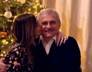Liviu Dragnea, zâmbitor în brațele iubitei! Ce mesaj le-a transmis românilor de Anul Nou