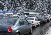 Accident cu două victime pe centura orașului Sinaia! Trafic INFERNAL pe Valea Prahovei
