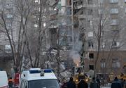 Bilanţul victimelor prăbuşirii blocului de locuinţe din Rusia ajunge la 18 victime