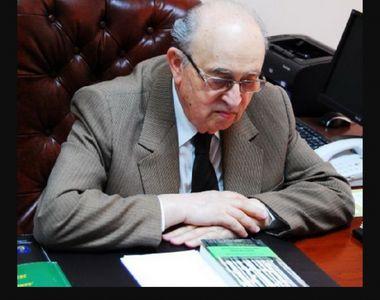 """A murit academicianul Teodor Dima, Doctor Honoris Causa al Universitățiii """"Andrei..."""