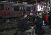 Panică în Gara de Nord din București după ce un tren a deraiat