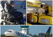 Scandal într-un avion al companiei Ryanair, după ce echipajul a dat afară din aeronavă un tânăr în scaun cu rotile