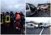 Accident GRAV pe DN1! Sunt 5 victime, dintre care una încarcerată