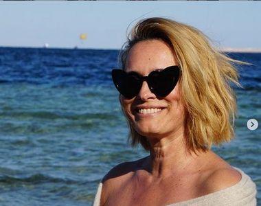 Andreea Esca la plajă. Imaginile au strâns mii de comentarii