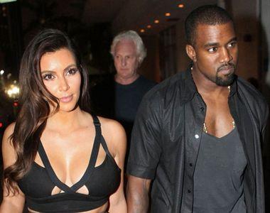 Kim Kardashian și Kanye West, din nou părinți. Copilul vine pe lume pe o cale...