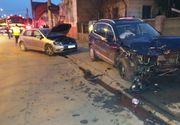Un șofer fără permis a ajuns la spital, după ce a făcut accident cu o mașină condusă de un șofer beat