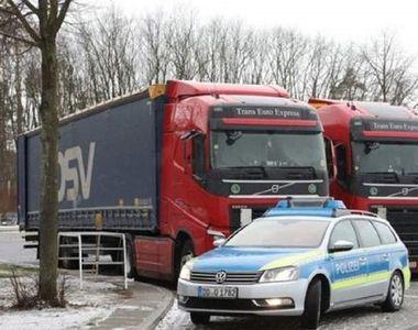 Șofer de TIR, găsit mort în cabină, în Germania. Patronul firmei la care lucra îl căuta...