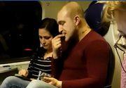 """Incredibil! Reacția """"protagoniștilor"""" care mâncau semințe în tren și aruncau cojile pe jos!"""