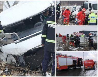 Victimele accidentului de microbuz de la Bascov plecau la muncă, în Cehia. O tânără de...