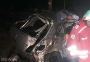 Accident în Argeș. O persoană și-a pierdut viața, iar alta este în stare gravă