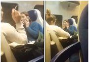 """VIDEO După """"sămânțarii"""" din tren, au apărut și duduile care fumează!"""