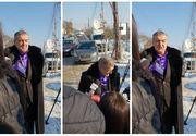 Gigi Becali a mers la înmormântarea tatălui lui Mihai Stoica. La cimitir a ajuns și antrenorul Stelei, Mihai Teja