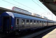 Vagonul de tren care a purtat sicriul Regelui Mihai, vandalizat de navetiști