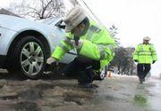 Puteți fi amendați chiar dacă aveți mașina echipată cu anvelope de iarnă! Iată cum vă puteți trezi cu o amendă de 725 de lei