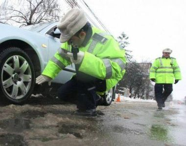 Puteți fi amendați chiar dacă aveți mașina echipată cu anvelope de iarnă! Iată cum vă...