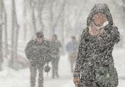 Vine urgia. ANM anunţă ninsori în Capitală în următoarele zile