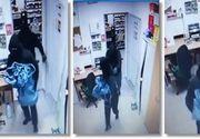 Urmărire ca în filme în Timiș! Polițiștii au fost nevoiți să tragă după patru hoți care au jefuit un magazin!