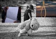 """O copilă de 10 ani s-a sinucis din cauza mamei: """"Te iubesc atât de mult, mama, dar îți fac acest cadou"""""""