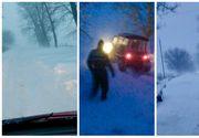 România sub zăpadă! Ce s-a întâmplat în ultimele 24 de ore în țară! Unde au fost cele mai mari probleme?