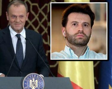 """Cine este românul care i-a tradus discursul lui Donald Tusk! """"Sunt surprins de ce..."""