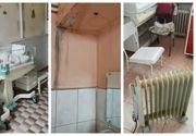 Imagini revoltătoare la Spitalul din Brașov! Pacienții stau în camere pline cu mucegai, iar saloanele de nou-născuți sunt încălzite cu radiatoare