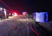 Șapte morti și zeci de răniți după ce un autocar cu turiști străini s-a răsturnat în sud-estul țării