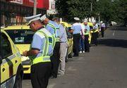 Razie în Capitală printre taximetriști. Polițilștii au dat amenzi usturătoare