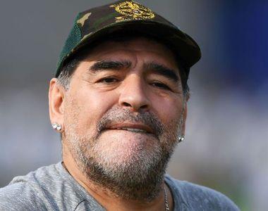 Maradona a fost operat pentru o hemoragie la stomac