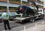 Banii Primăriei se duc pe autospeciale pentru ridicarea rapidă a maşinilor parcate neregulamentar sau abandonate