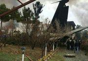 Un avion de transport marfă s-a prăbușit în apropiere de Teheran