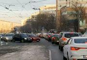 Trafic infernal în Capitală odată cu întoarcerea elevilor la școală