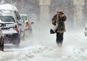 Vremea rea face ravagii în țară.  Avalanșa a distrus o șosea care duce spre Platoul Bucegi