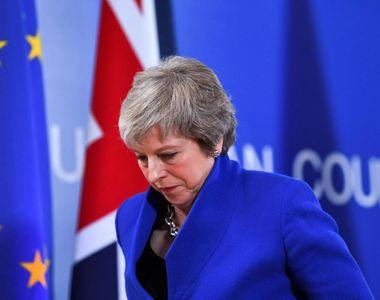 Acordul BREXIT a fost respins. Theresa May, termen până luni să prezinte un plan B