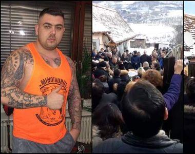 Imagini copleșitoare de la înmormântarea lui Marius, tânărul omorât la Mediaș! Sute de...