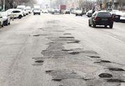 București, plin de gropi ești. Străduțele din spatele blocurilor arată ca după bombardament
